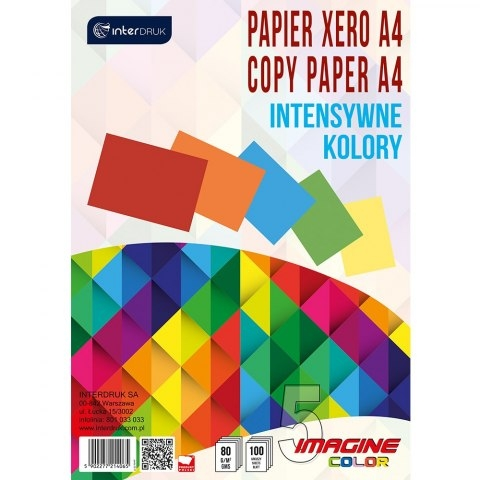 Papier ksero A4/100k - 5 kolorów x 20k (434008)